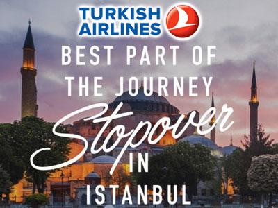 La Turkish Airlines offre l'hôtel à Istanbul pour les tunisiens en escale