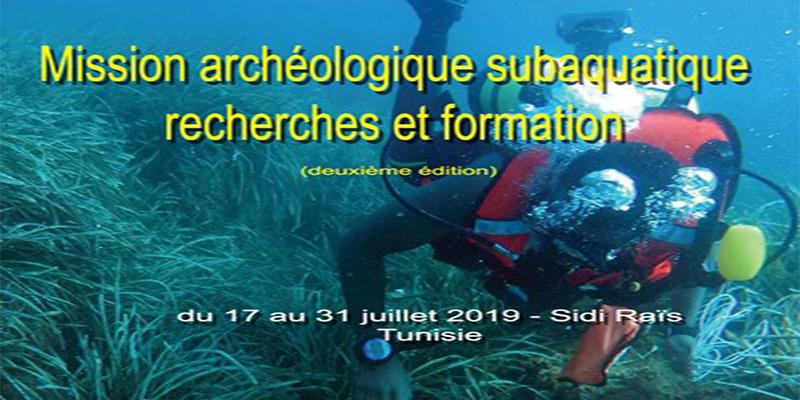 Mission archéologique subaquatique à Sidi Raïs
