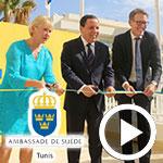 En vidéos : Inauguration de l'ambassade de Suède à Tunis