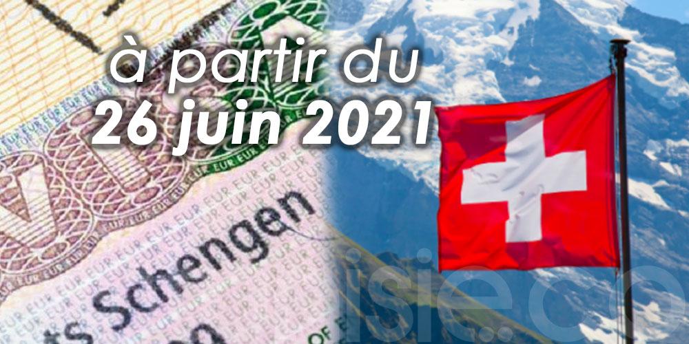 Voyager en Suisse sans restriction avec un visa Schengen de type C désormais possible