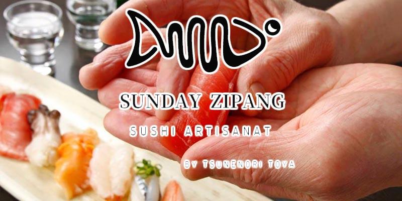 Découvrez Sunday Zipang, le nouveau sushi bar éphémère à la Marsa