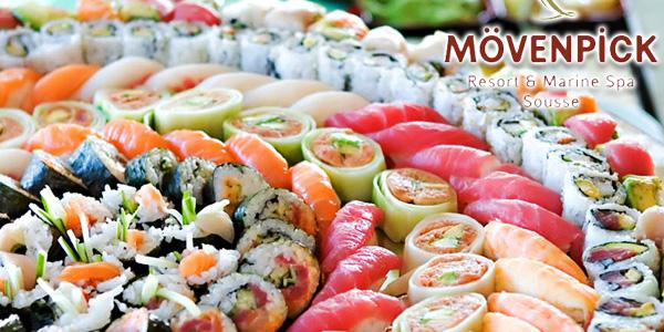 Cours de sushis le 26 Mars au Mövenpick Resort & Marine Spa Sousse