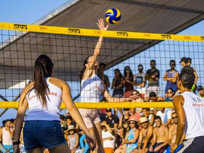 En vidéo : Près de 5000 spectateurs et fans de beach volley au tournoi Fatha de Kélibia