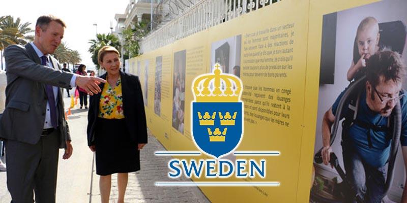 En vidéos : Vernissage de l'exposition de Papas en Suède, Swedish Dads