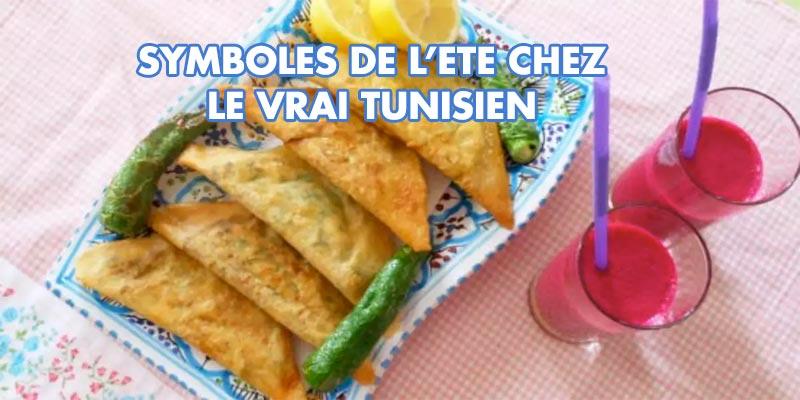 Les 5 Symboles gourmands de l'été chez ''le Vrai'' Tunisien