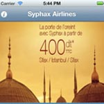 Syphax Airlines lance son application Iphone