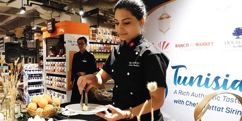 En photos : Chef Syrine Guettat valorise la cuisine tunisienne en Indonésie