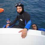 Plongée sous marine à Tabarka