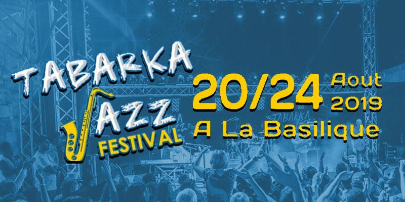 Découvrez le Line up du Tabarka Jazz Festival 2019