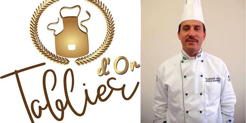 Chef Yasser Jad, à la compétition Tablier d'Or à Sfax