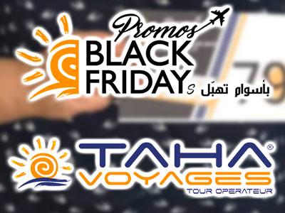 Taha Voyages signe un véritable Black Friday avec des réductions atteignant les 95%