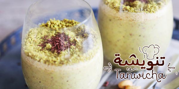 En vidéo : la recette de l'Assida aux pistaches light de Tanwicha