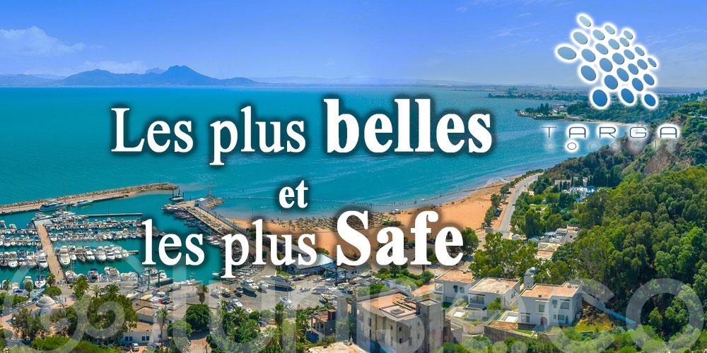 À part qu'elles sont les plus belles, les plages de la Tunisie sont les plus Safe