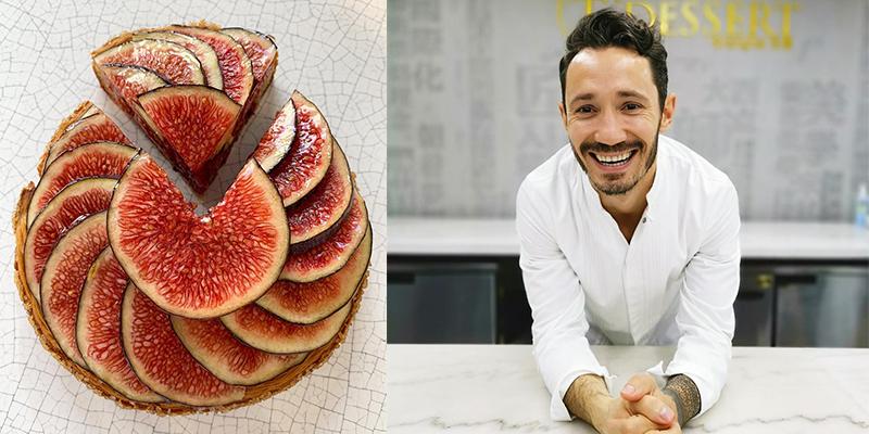 Nouveauté Cedric Grolet : Tarte aux figues à l'huile d'olive