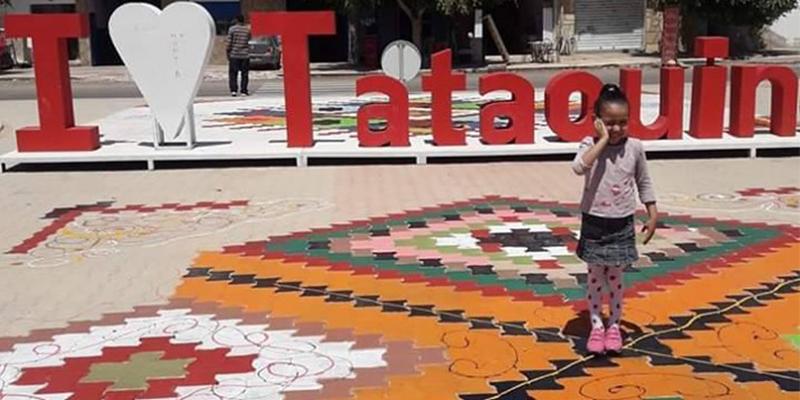 En photos: La ville de Tataouine s'embellit par ses jeunes