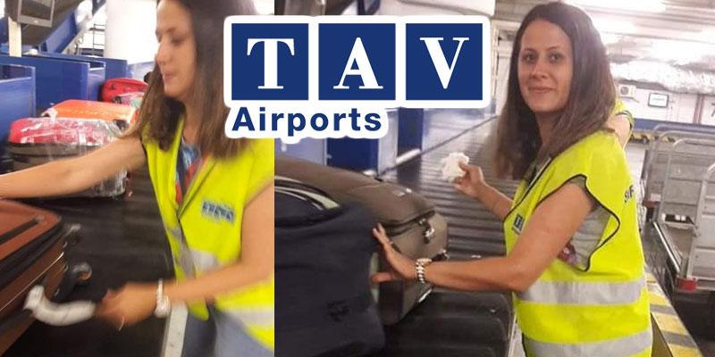 Le personnel administratif de l'aéroport Enfidha remplace les Bagagistes en grève