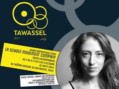 La rencontre Tawassel le 13 octobre au Théâtre National de Halfaouine