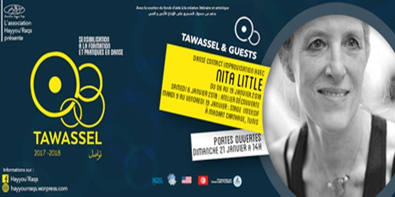 Un stage de danse par l'artiste américaine NITA LITTLE dans le cadre du projet Tawassel