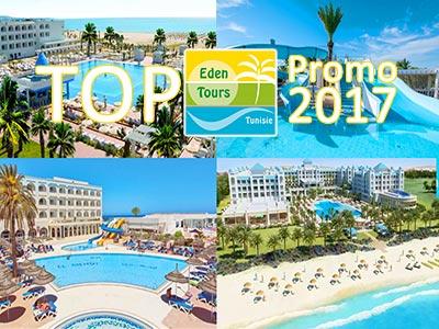 Les 12 hôtels en Best Of promo Chez Eden Tours pour juillet