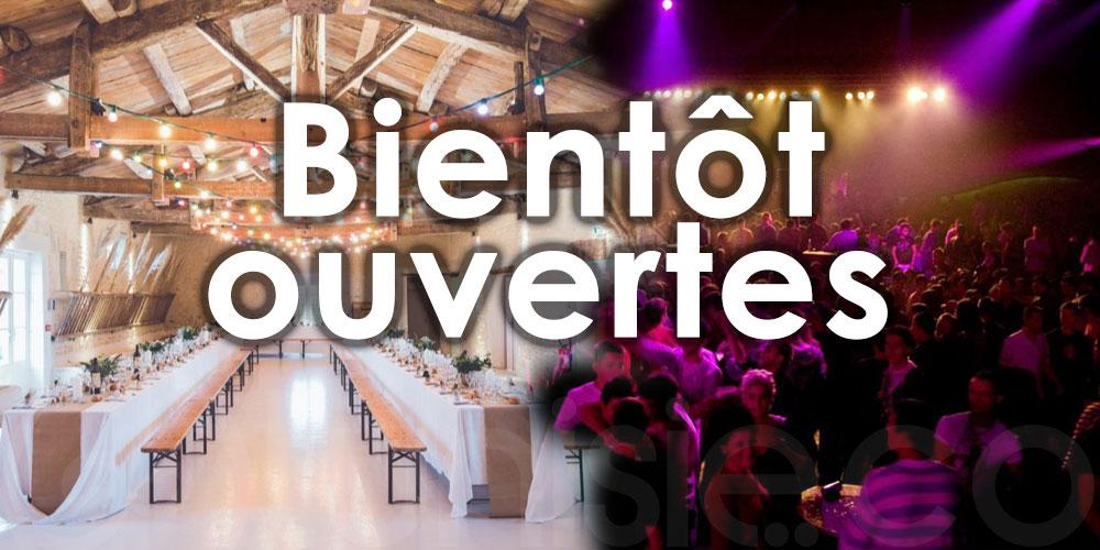 Boîtes de nuit et salles des fêtes bientôt ouvertes au Grand Tunis