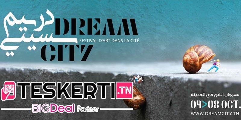 Désormais, achetez les billets du Dream City Tunis via Teskerti.tn