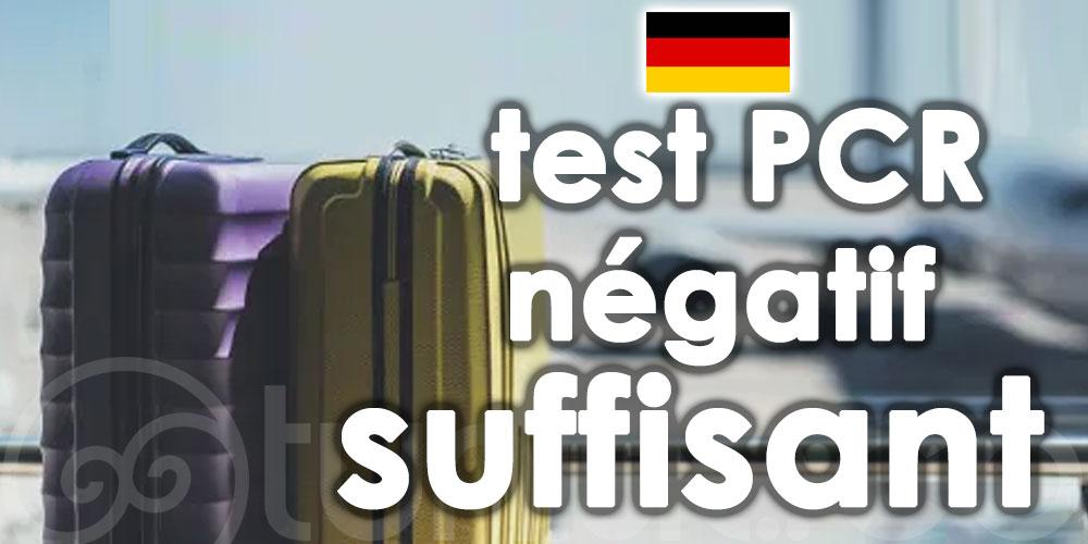 Un test PCR négatif désormais suffisant pour les allemands non-vaccinés arrivant en Tunisie