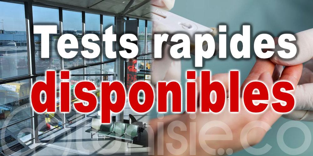 Des tests rapides lancés dans un aéroport de Londres