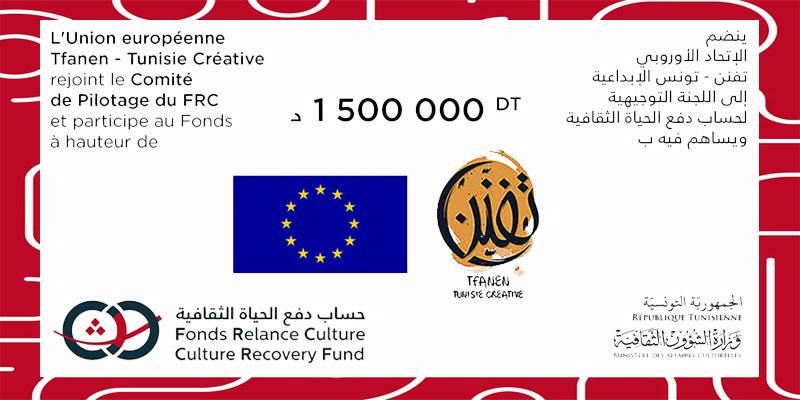 L'Union Européenne: un don de 1 500 millions de dinars au Fonds Relance Culture