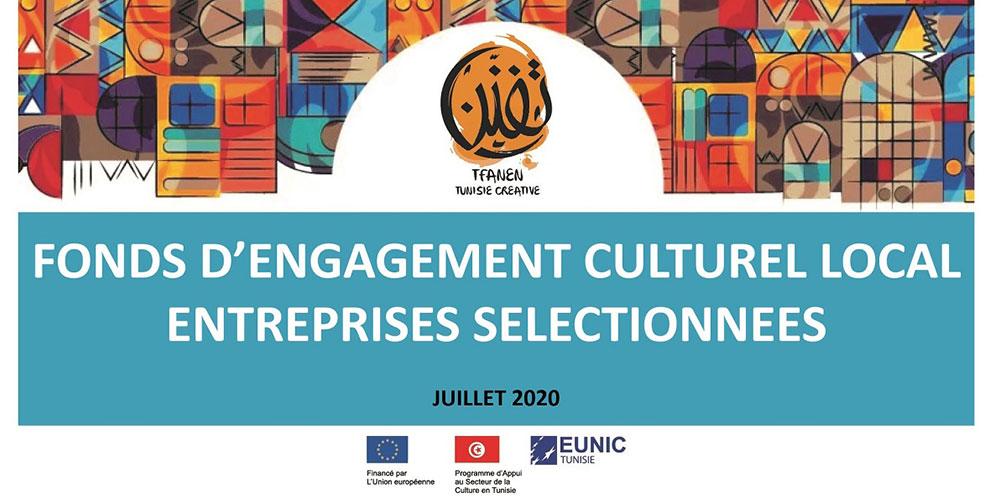 Tfanen – Tunisie Créative attribue des fonds de subvention à 10 entreprises culturelles privées