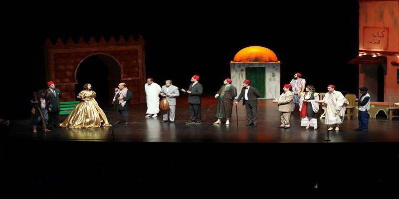Les Années folles عسكر الليل de Soufiane Ben Farhat au théatre de l'Opéra