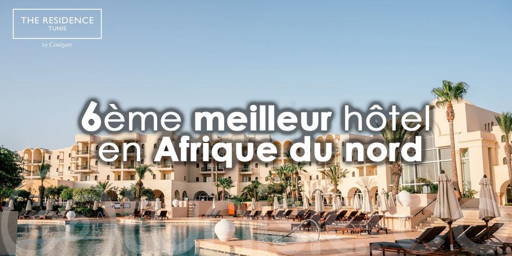 The Residence Tunis, 6ème meilleur hôtel en Afrique du nord