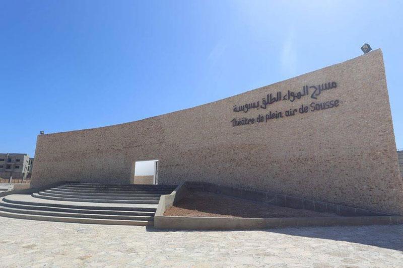 En photos : Découvrez le nouveau ''Théâtre de plein air de Sousse''