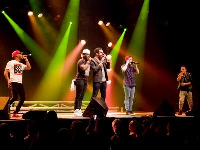 Le groupe a capella américain 'The Exchange' animera deux concerts en Tunisie