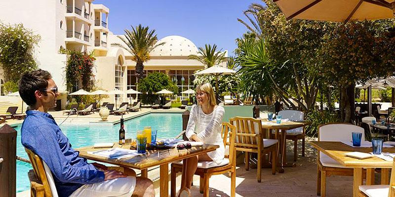 Le Pool Side de The Residence, une excellente évasion culinaire