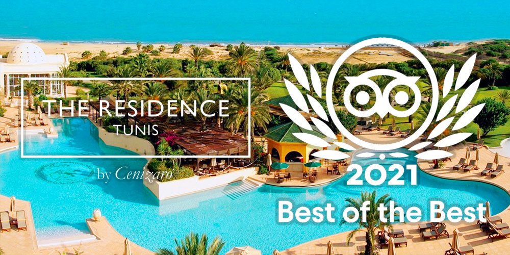 The Residence Tunis classé au top 25 des Best of the Best africain
