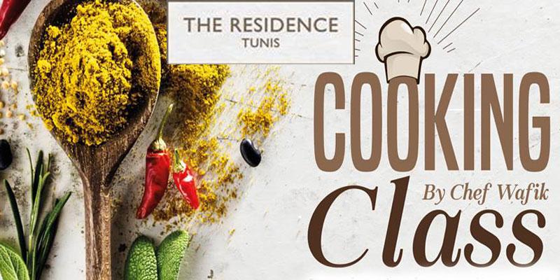 Cours de cuisine organisé par The Residence