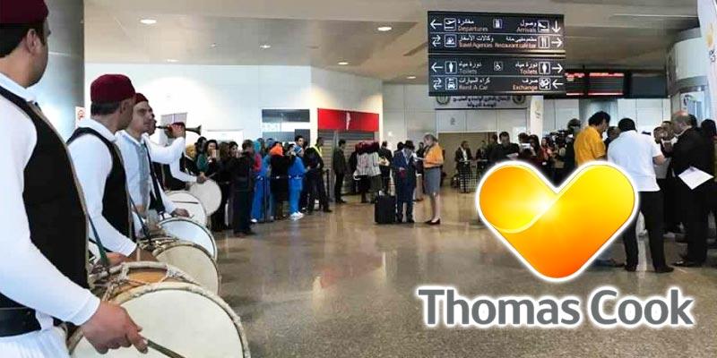 En photos : Après près de 3 ans, Thomas Cook revient en Tunisie