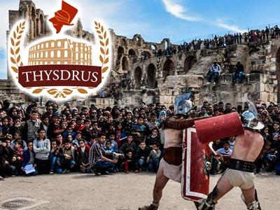 La 3ème fête romaine de THYSDRUS les 23, 24 et 25 Mars à l'Amphithéâtre d'El-Jem