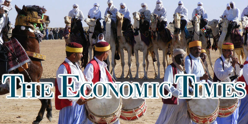 Quand le magazine The Economic Times parle du Festival international du Sahara de Douz