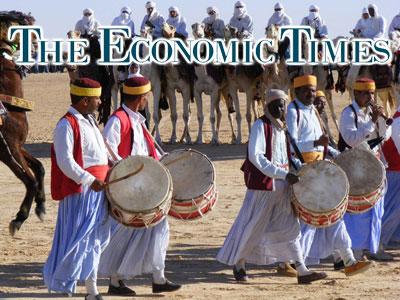 Quand le magazine The Economic Times parle du Festival international du Sahara de Douz