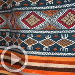 En vidéo : Découvrez les symboles secrets des tissages berbères de Toujane