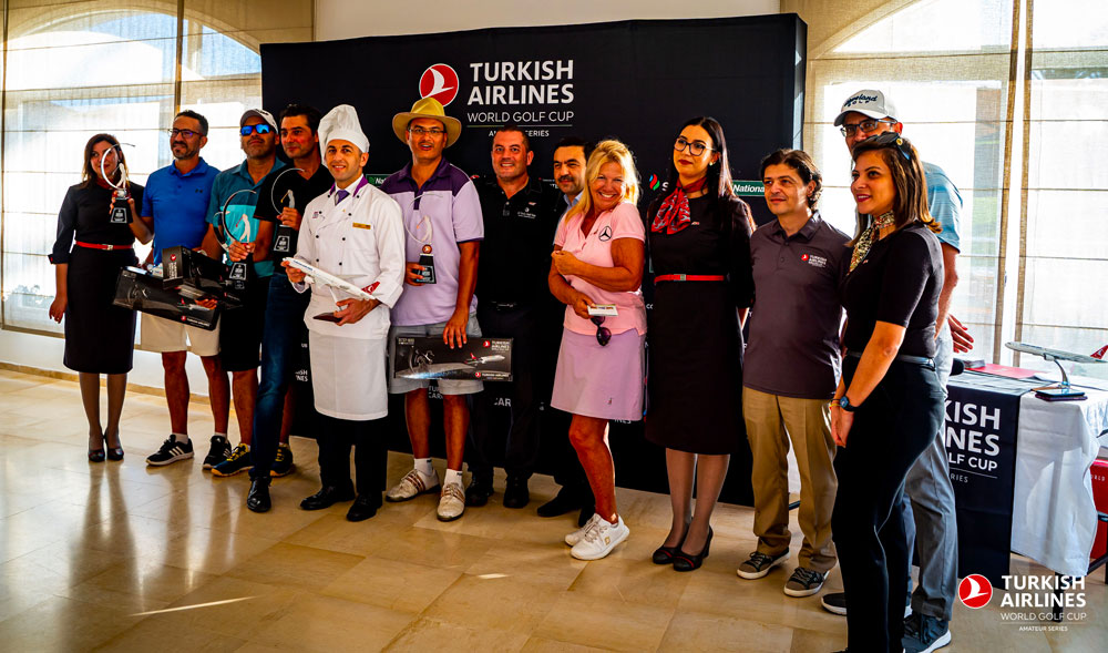 En photos : Ambiance du Tournoi de Golf de Turkish Airlines à Hammamet