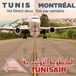 Le Tunis - Montréal à partir de 1 578 Dt sur Tunisair