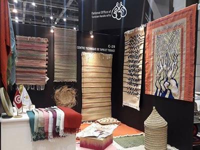 En photos : 6 entreprises artisanales tunisiennes au salon 'Interior lifestyle' à Tokyo