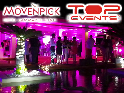 En vidéo : Soirée Corporate Night du Mövenpick Hotel Gammarth by Top Events
