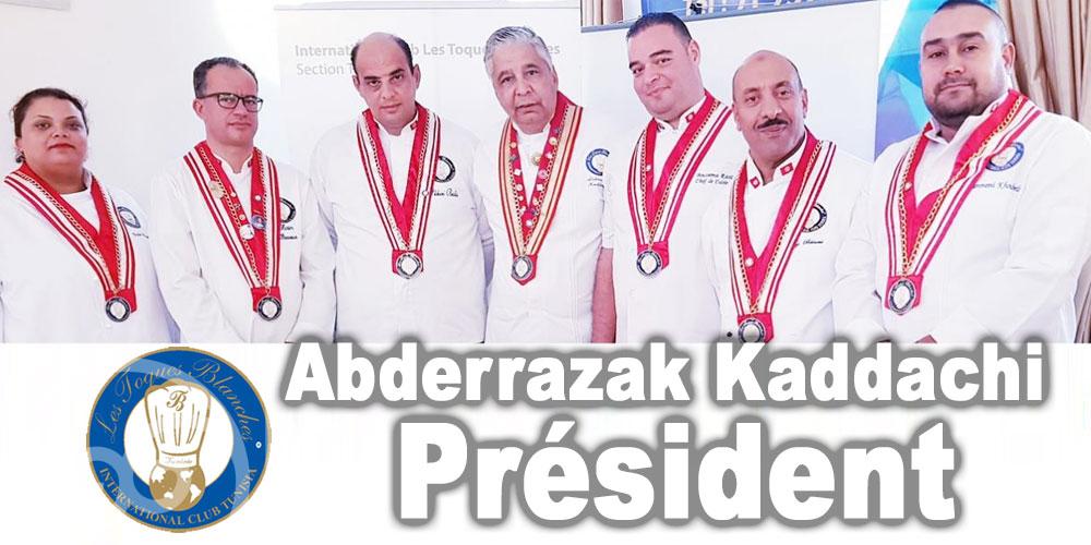 Abderrazak Kaddachi reconduit à la Présidence des Toques Blanches Tunisie