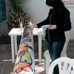 Atelier de création de Totems à Sfax