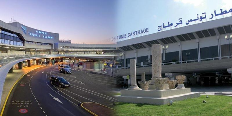 La ligne Toulouse Tunis enregistre une croissance de +43.4%