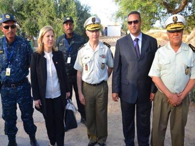La Ministre du tourisme adresse ses remerciements aux forces de l'ordre