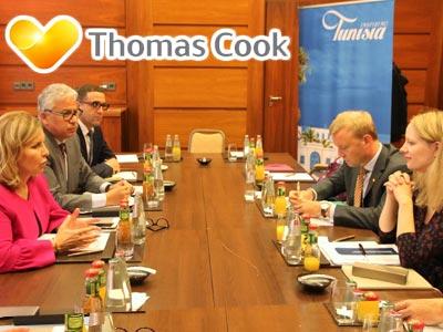 La ministre du Tourisme à la rencontre de Thomas Cook en Allemagne